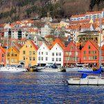 カラフルで可愛い三角屋根の建物。ノルウェーの世界遺産「ブリッゲン」