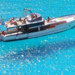 宙に浮かぶ船で有名な『ランペドゥーザ島』が美しい。