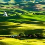 いつまでも眺めていたい一幅の絵のような絶景。アメリカの『パルース丘陵』