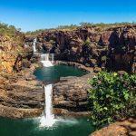 秘境に流れる階段状の美しき滝。オーストラリアの『ミッチェルの滝』