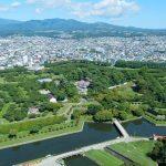 春夏秋冬訪れたい日本の名所!見事な五稜の星型、函館の『五稜郭』