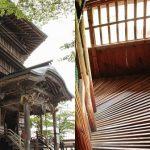 レオナルド・ダ・ヴィンチが考案!?世にも珍しい仏堂『会津さざえ堂』