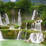 秘境に流れる絶景の滝!!ベトナム最大の滝『バンゾック滝』