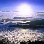 瀬戸内海随一の絶景!広島県の『筆影山』から望む多島美と海霧。