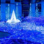 この冬最も美しい青の世界へ!カレッタ汐留のイルミネーションが素敵