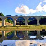 季節によって見え隠れする幻の橋!上士幌町にある『タウシュベツ川橋梁』