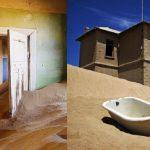 砂漠にのみこまれたゴーストタウン。ナミビアの『コールマンスコップ(Kolmanskop)』