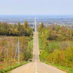 天まで続く道が知床に! 北海道斜里町の『天に続く道』
